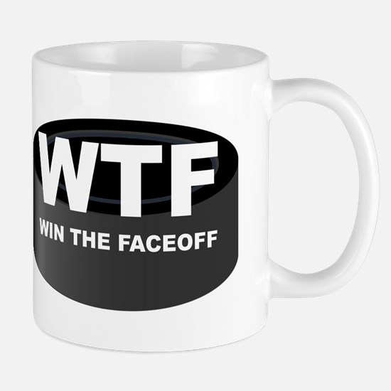 Win The Faceoff Mug