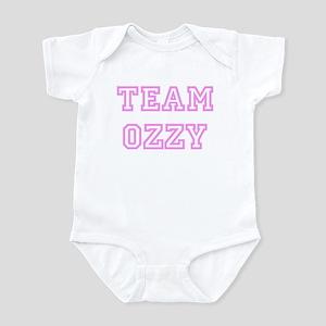 Pink team Ozzy Infant Bodysuit