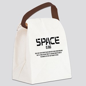 Space is Big Canvas Lunch Bag