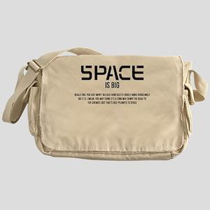 Space is Big Messenger Bag
