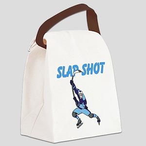 Slap Shot Canvas Lunch Bag