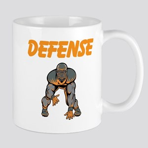 Football Defense Mug