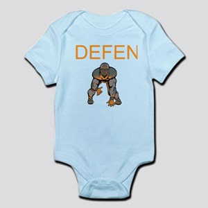 Football Defense Infant Bodysuit