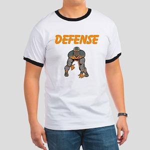 Football Defense Ringer T
