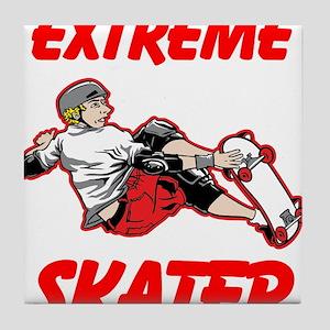 Extreme Skater Tile Coaster