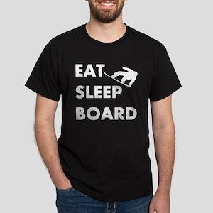 Eat Sleep Board Dark T-Shirt