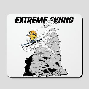 Extreme Skiing Mousepad
