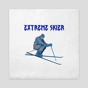 Extreme Skier Queen Duvet