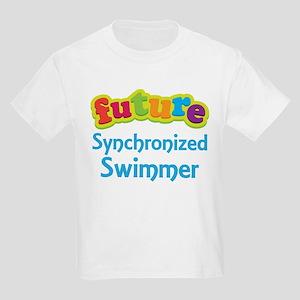 Future Synchronized Swimmer Kids Light T-Shirt