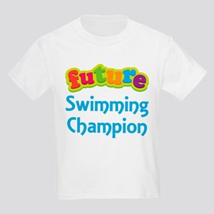 Future Swimming Champion Kids Light T-Shirt