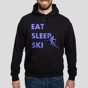 Eat Sleep Ski Hoodie (dark)