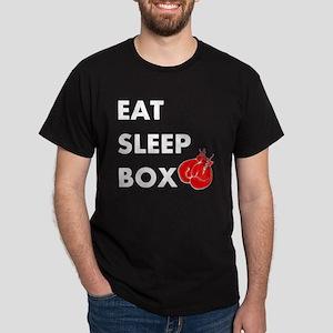 Eat Sleep Box Dark T-Shirt