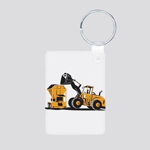 Front End Loader Digger Excavator Retro Aluminum P
