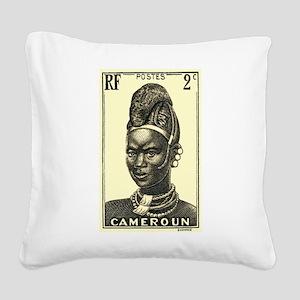 1939 Cameroon Mandarawa Woman Postage Stamp Square
