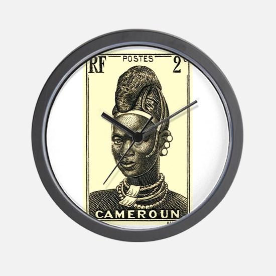 1939 Cameroon Mandarawa Woman Postage Stamp Wall C