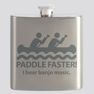 Paddle Faster I Hear Banjo Music. Flask