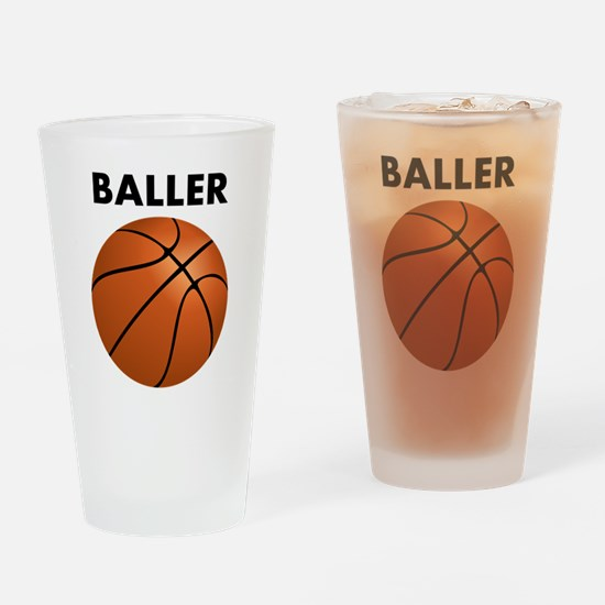 Baller Drinking Glass