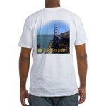 Golden Gate Bridge North End Fitted T-Shirt