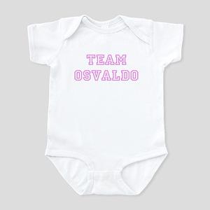 Pink team Osvaldo Infant Bodysuit