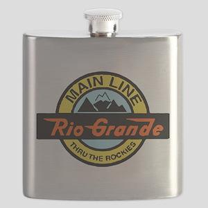 Rio Grande Rockies Railway Flask