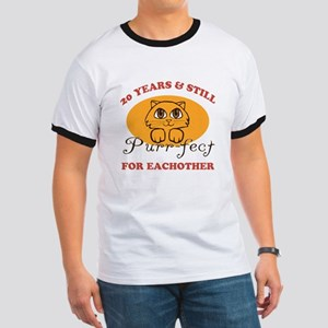 20th Purr-fect Anniversary Ringer T