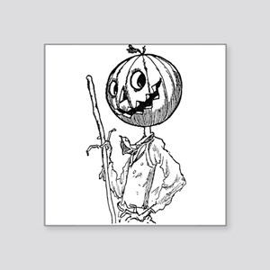 "Scarecrow Square Sticker 3"" x 3"""