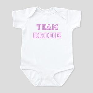 Pink team Brodie Infant Bodysuit