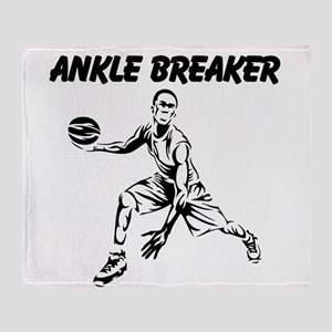 Ankle Breaker Throw Blanket