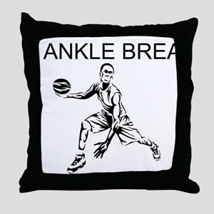 Ankle Breaker Throw Pillow