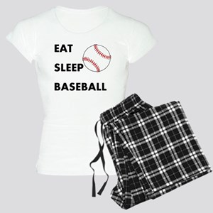 Eat Sleep Baseball Women's Light Pajamas