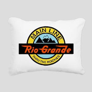 Rio Grande Rockies Railw Rectangular Canvas Pillow