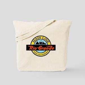 Rio Grande Rockies Railway Tote Bag