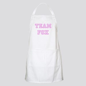 Pink team Fox BBQ Apron