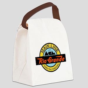 Rio Grande Rockies Railway Canvas Lunch Bag