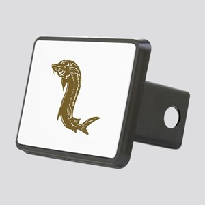 Sturgeon Fish Retro Rectangular Hitch Cover