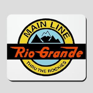 Rio Grande Rockies Railway Mousepad