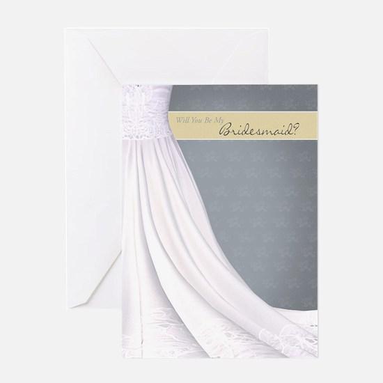 Will You Be My Bridesmaid Greeting Card Slate Crea