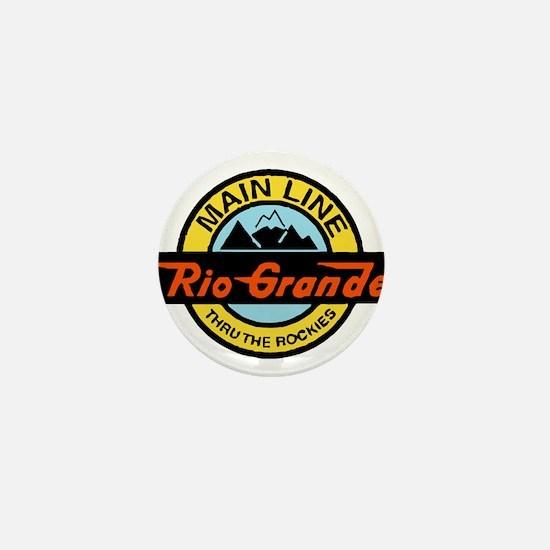 Rio Grande Rockies Railway Mini Button