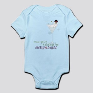 Merry And Bright Infant Bodysuit