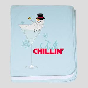 Just Chillin baby blanket