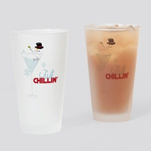 Just Chillin Drinking Glass