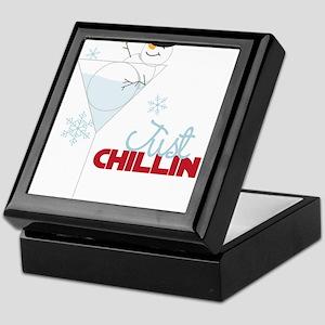 Just Chillin Keepsake Box