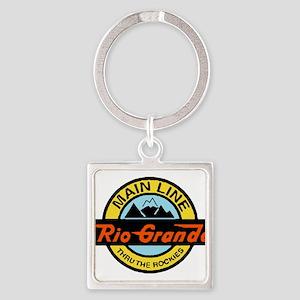 Rio Grande Rockies Railway Keychains