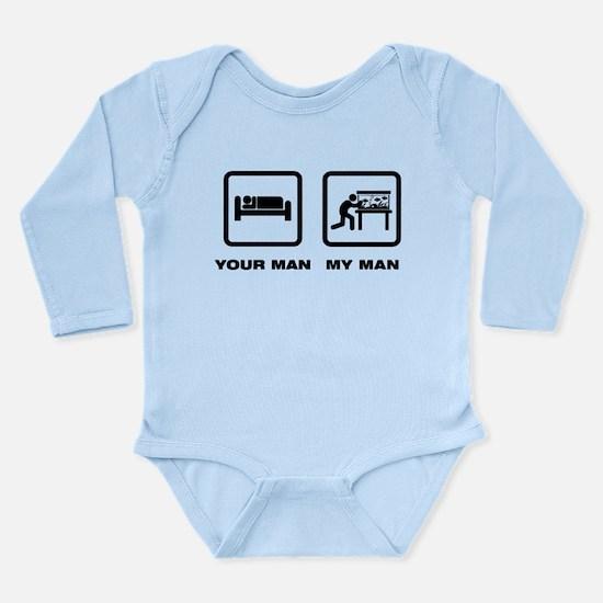 Fish Lover Long Sleeve Infant Bodysuit
