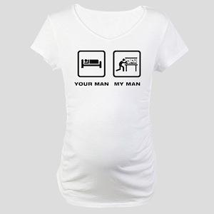 Fish Lover Maternity T-Shirt