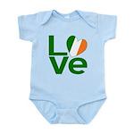 Green Irish Love Infant Bodysuit