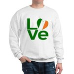 Green Irish Love Sweatshirt