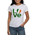 Green Irish Love Women's T-Shirt