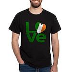 Green Irish Love Dark T-Shirt