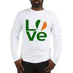 Green Irish Love Long Sleeve T-Shirt